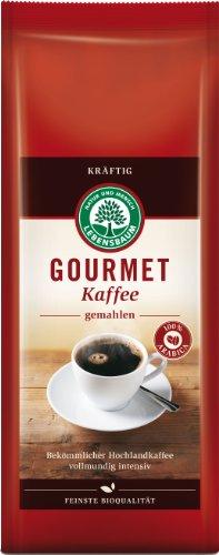 Lebensbaum Gourmet Kaffee, kräftig,...