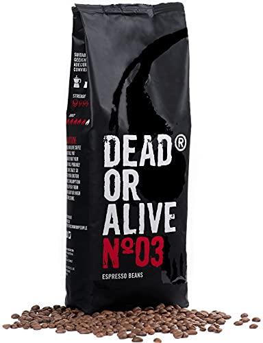 DEAD OR ALIVE Espresso No3 Kaffeebohnen...