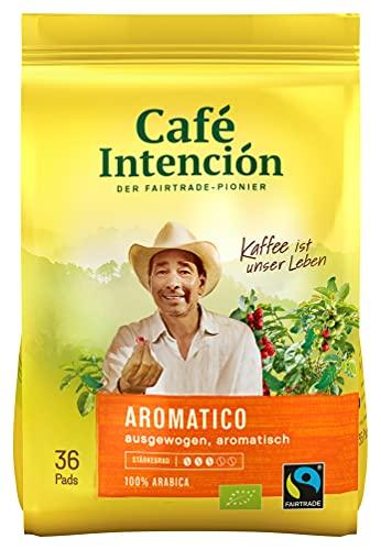 Café Intención ecológico, 36 Pads x 6