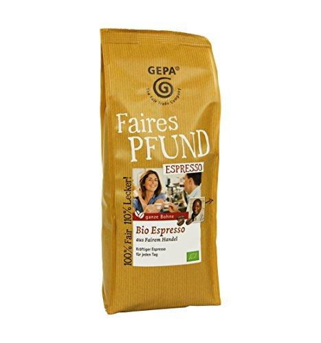 GEPA Faires Pfund Bio Espresso Bohne - 1...