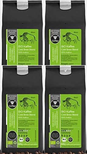 4x 500g Bio Hochland-Kaffee - Cold Brew...