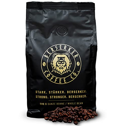 BERSERKER COFFEE Kaffebohnen extra stark...