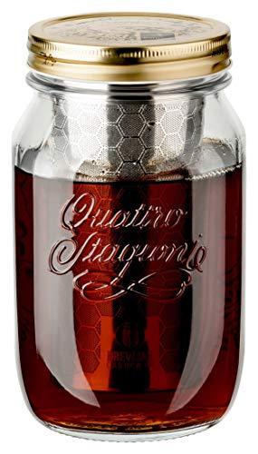 dripdrip BREWJAR Cold Brew Coffee Jar,...