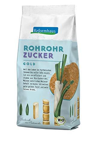 Reformhaus Rohrohrzucker Bio, 1er Pack...