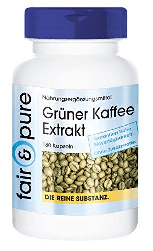 Grüner Kaffee Extrakt 500mg -...