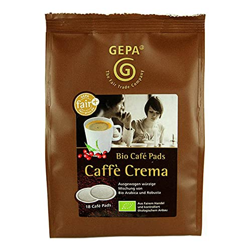 Gepa Bio Crema Pads, 6er Pack (6 x 126...