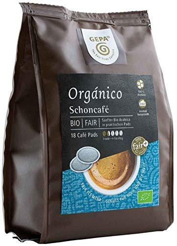 Gepa Bio Schonkaffee Pads - 1 Karton mit...