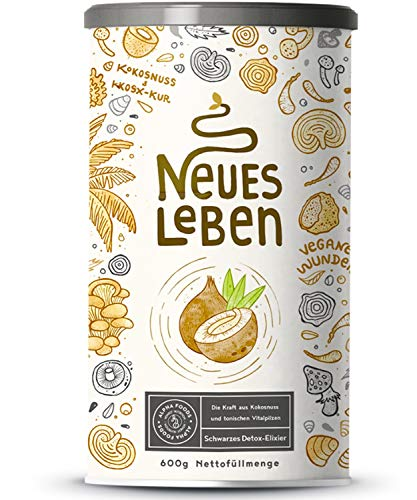 Neues Leben - Schwarzes Detox-Elixier -...