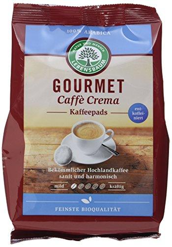 Lebensbaum Gourmet Caffè Crema Pads,...