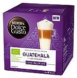 NESCAFÉ Dolce Gusto Guatemala Latte Macchiato Milch- & Kaffeekapseln (100% biologischer Anbau, Bio-Kaffee vereint mit Bio-Vollmilch, 6 Portionen), 1er Pack (1 x 12 Kapseln)
