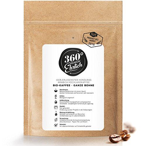 Premium Bio Kaffeebohnen preisgekrönt  ...