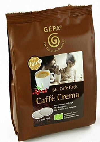 Gepa Bio Kaffee Pads Crema , 1 Karton...