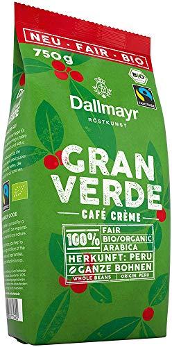 Dallmayr Gran Verde ganze Bohnen, Bio,...