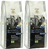 GEPA Italienischer Bio Espresso - koffeinfrei - gemahlen 2 x 250 g. Fair Trade Kaffee
