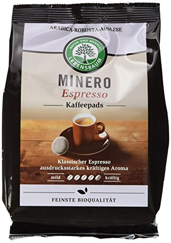 Lebensbaum Bio Minero Espresso Pads, 5er...