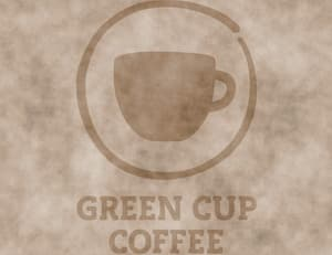 Logo Green Cup Coffee Bio-Kaffee