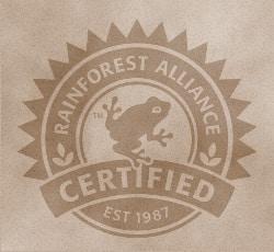 Rainforest Alliance Siegel Kaffee