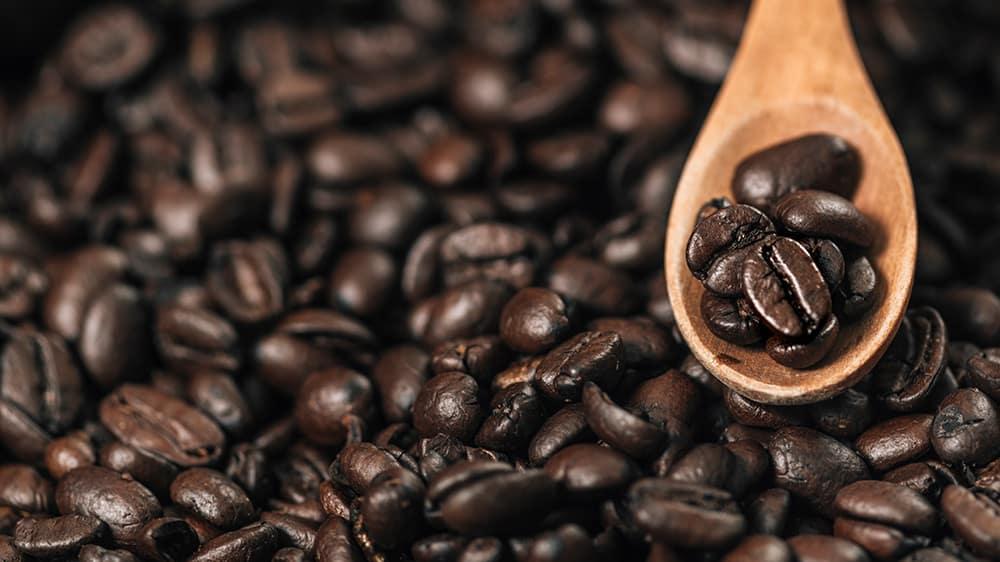 Bio-Kaffee Bohnen