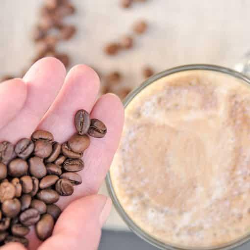 Kaffee entkoffeinieren - wie funktioniert das?