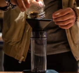 Wie sieht die perfekte Dosierung des Kaffees aus?